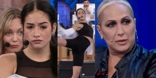 Amici 20, Alessandra Celentano caccia Elena D'Amario dalla sala-prove