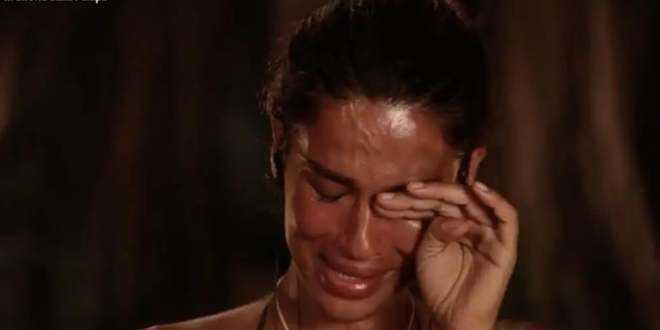 Isola dei Famosi 2021, Francesca Lodo ricorda Vallettopoli e scoppia a piangere