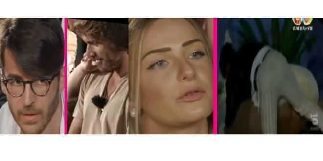 Temptation island 2021, Ste e Claudia in crisi: lui dà di matto nel villaggio