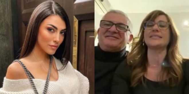 GF Vip 5, Giulia Salemi a cena con i genitori di Pierpaolo: pace fatta?