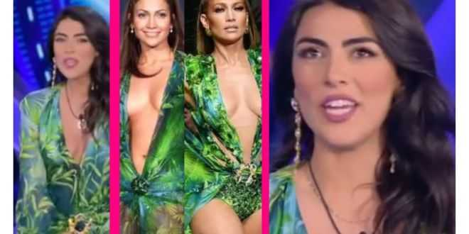GF Vip 5, Giulia Salemi si ispira a Jennifer Lopez: il prezzo dell'outfit da capogiro