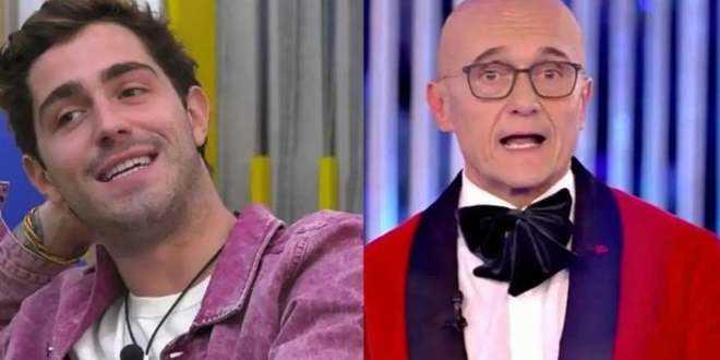GF Vip 5, Tommaso Zorzi furioso con Signorini: anche il web si ribella