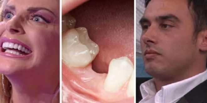Grande Fratello Vip 6, paura in casa: la Cipriani perde dente e un qualcuno lo mangia