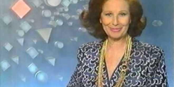 Addio a Nicoletta Orsomando, storica Signorina Buonasera della Rai