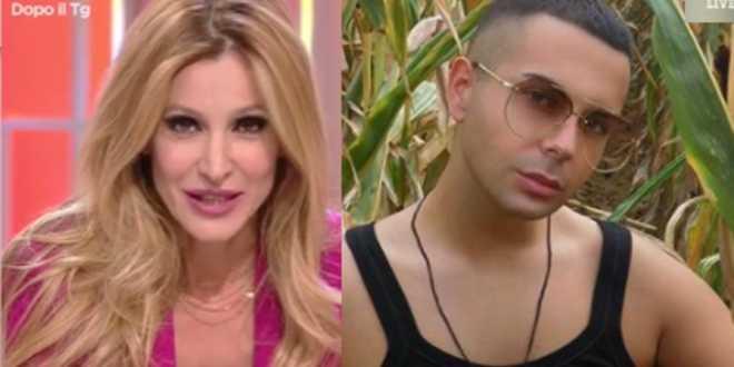 """Adriana Volpe sotto choc in tv, l'ospite Federico Rutali rivela: """"Vendo la verginità"""""""