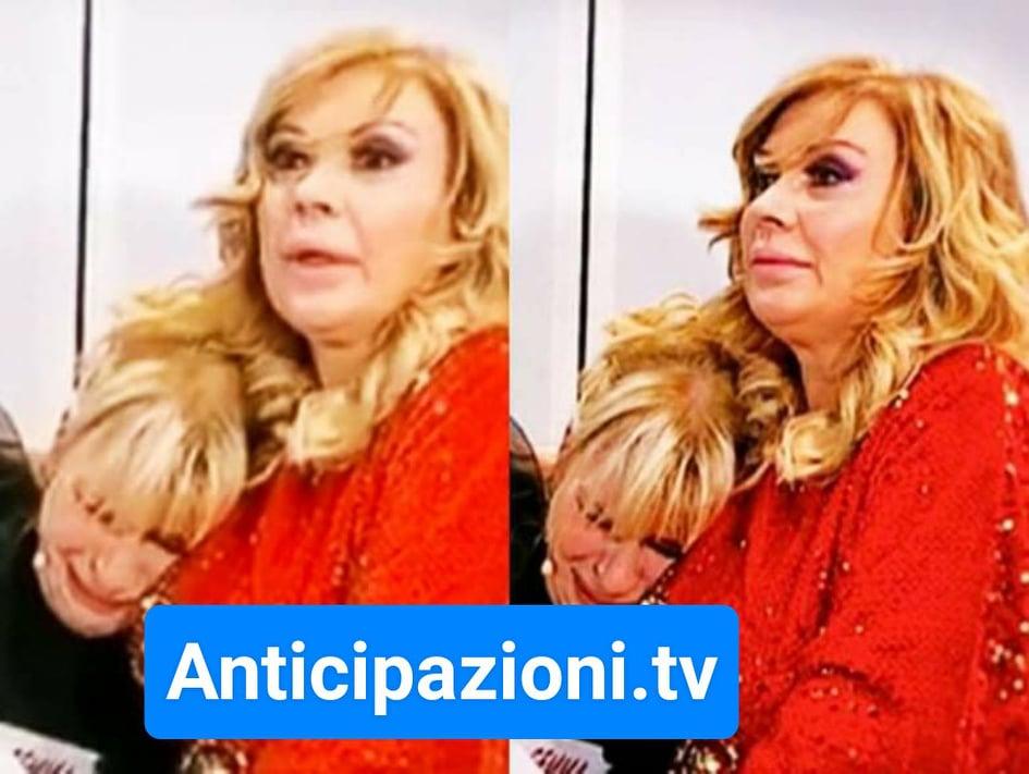 Uomini e Donne news al 20/12/2019, Tina Cipollari consola Gemma Galgani: pace fatta?