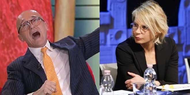 Grande Fratello Vip, Alfonso Signorini ci prova: Maria De Filippi super ospite
