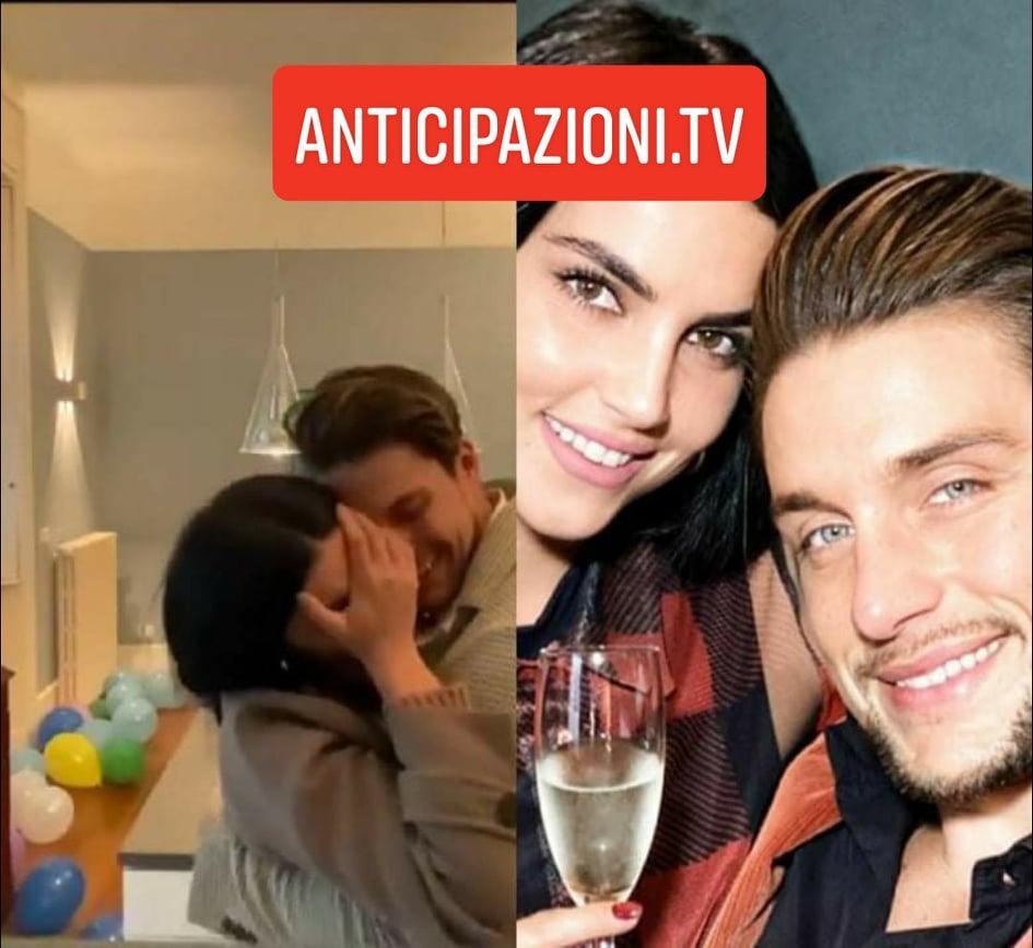 Andrea Dal Corso inizia la convivenza con Teresa con una sorpresa speciale: la Langella in lacrime