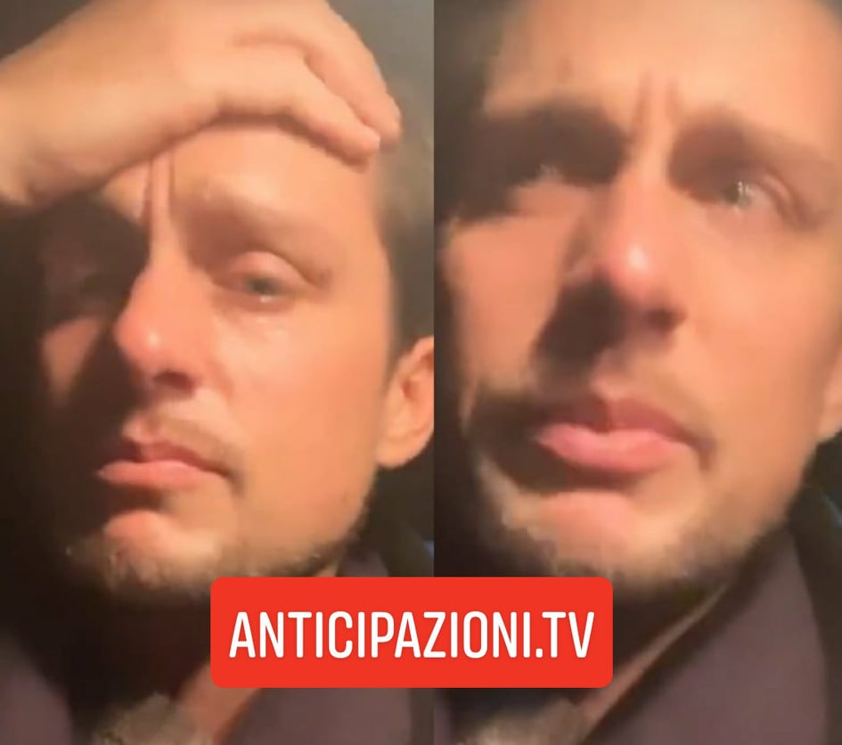 """News Uomini e Donne, Andrea Dal Corso piange su Instagram: """"L'hanno violentata e uccisa"""""""