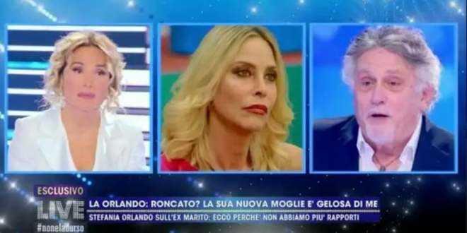 """GF Vip 5, Andrea Roncato rivela: """"Stefania Orlando aveva un altro e mi lasciò"""""""