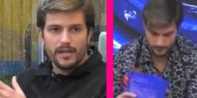 """Gf vip 5, Andrea Zelletta dopo il regalo di Natalia Paragoni: """"Non me lo merito"""""""