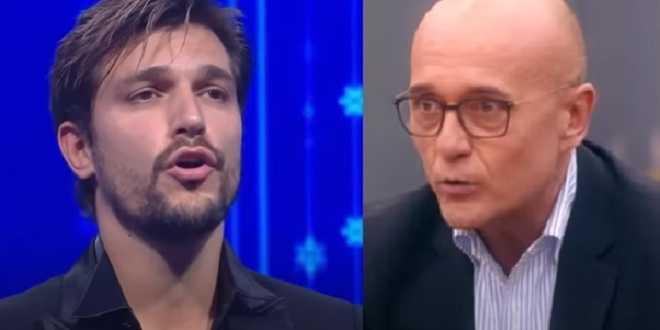 GF Vip 5, Andrea Zelletta smaschera Alfonso Signorini e lui non la prende bene