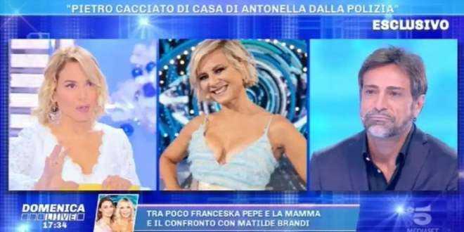 GF Vip 5, Antonella Elia butta fuori di casa Pietro Delle Piane: arriva la polizia