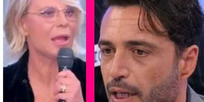 Uomini e Donne, Armando Incarnato torna in studio e fa infuriare Maria De Filippi