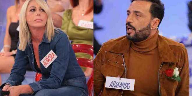 """Uomini e Donne, Aurora Tropea su Armando Incarnato: """"Più fai l'infame, più sei bugiardo…"""""""