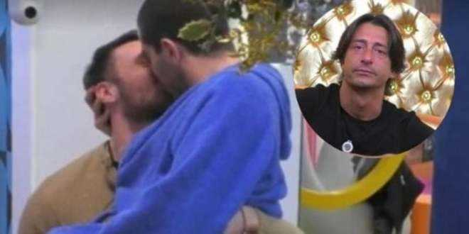 GF Vip 5, il bacio tra Tommaso Zorzi e Andrea Zenga fa infuriare Francesco Oppini