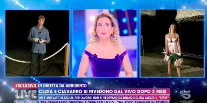 """Barbara d'Urso furiosa con Paolo e Clizia: """"Non si prende in giro il pubblico!"""""""
