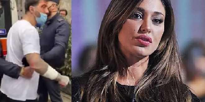 """Belen Rodriguez in lacrime per Fabrizio Corona: """"Ha già pagato abbastanza"""""""