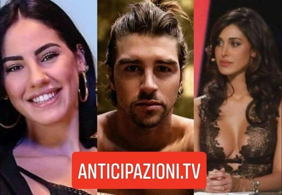 Uomini e Donne, Belen Rodriguez torna a parlare di Andrea Damante e Giulia De Lellis