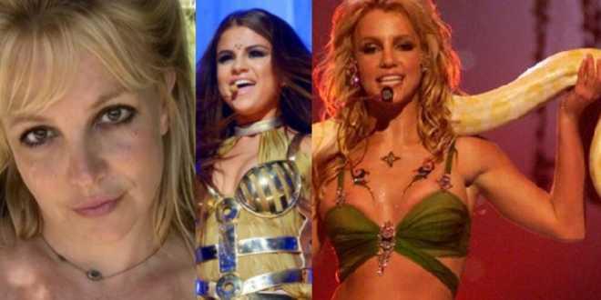 """Britney Spears cita Selena Gomez contro i critici: """"Ora potete vedere le mie lentiggini!"""""""