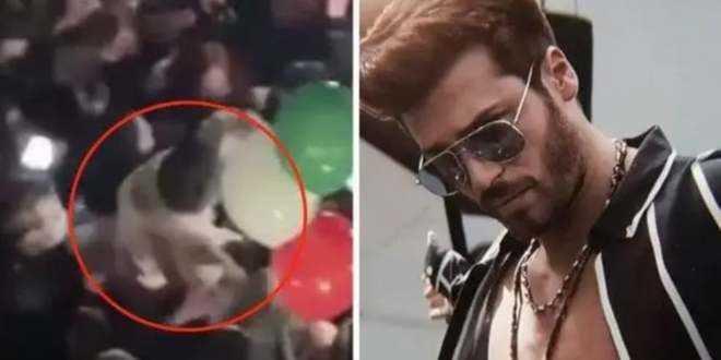 Can Yaman assalito dai fan, ma la polizia lo multa pesantemente