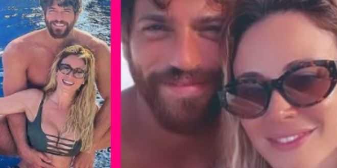Can Yaman e Diletta Leotta felici e innamorati, a bordo di uno yacht: la vacanza romantica