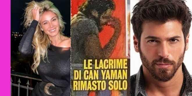 Can Yaman piegato dalle lacrime, c'entra Diletta Leotta: l'avvistamento