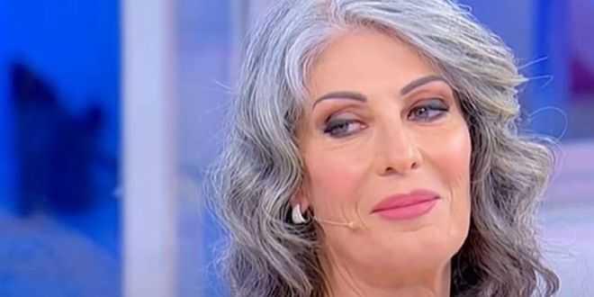 I capelli di Isabella Ricci prima non erano grigi