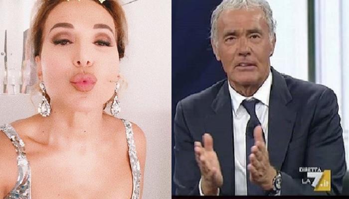 Caso Pamela Prati, Massimo Giletti si scaglia in diretta contro Barbara d'Urso
