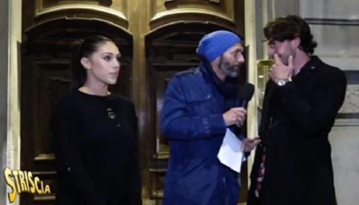 Cecilia e Ignazio spericolati alla guida: interviene Striscia la Notizia