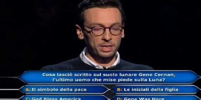 Chi Vuol Essere Milionario: Enrico Remigio vince un milione, ma qualcosa non quadra