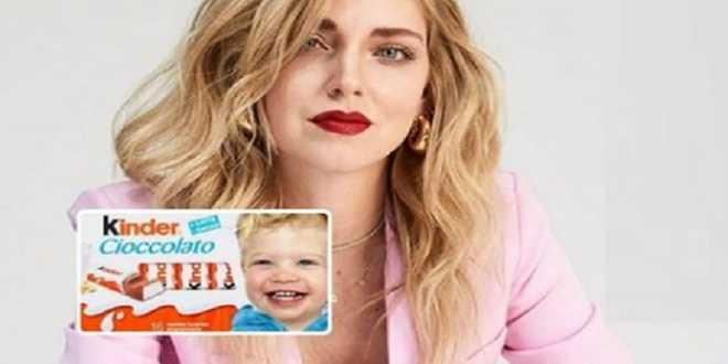 Chiara Ferragni e l'appello a Ferrero: vuole mettere il volto del figlio sulla Kinder