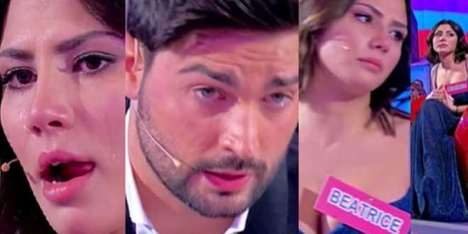 Uomini e donne, Davide Donadei scoppia in lacrime per Beatrice Buonocore: le accuse dopo la scelta