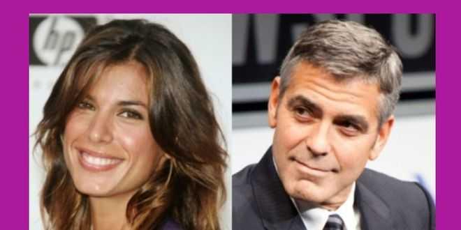 Elisabetta Canalis, George Clooney ricorda la cosa ricorrente nella loro intimità: lei replica