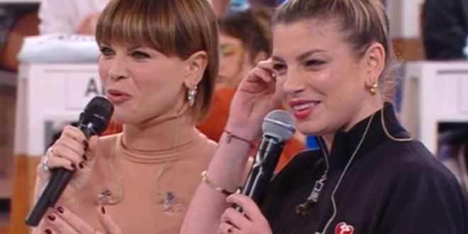 Emma Marrone e Alessandra Amoroso per la prima volta insieme: il ritorno ad Amici