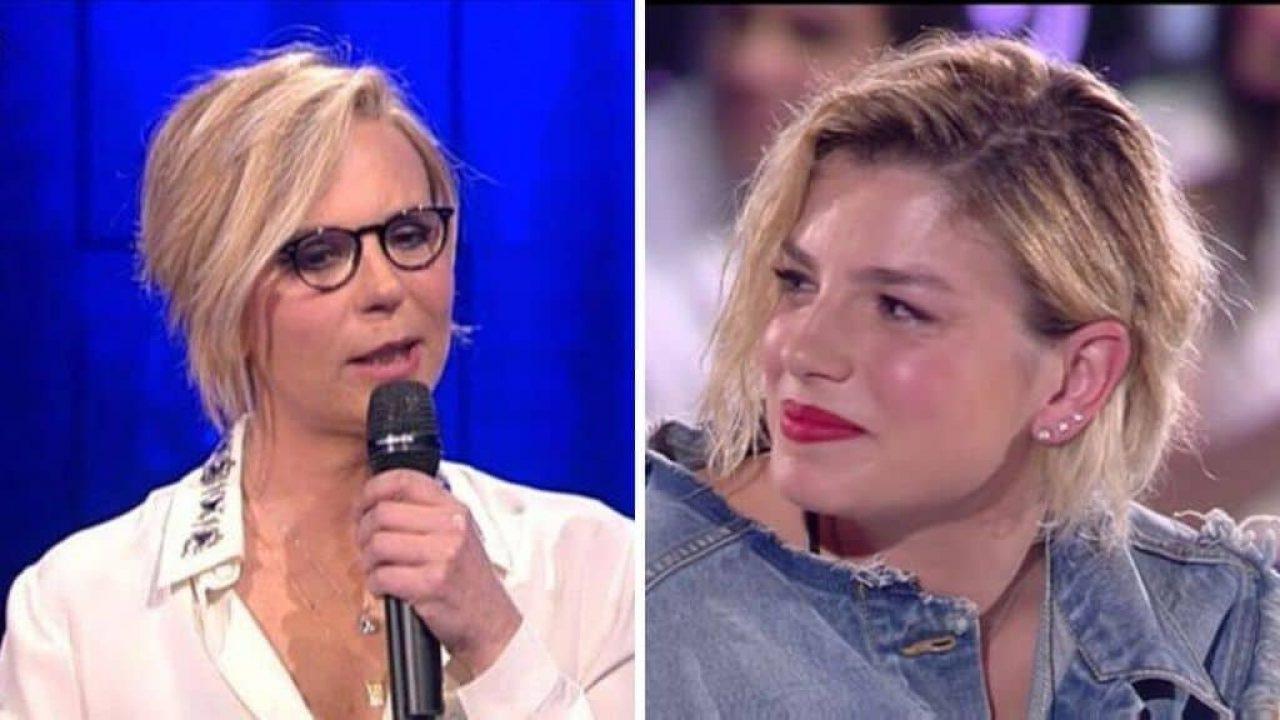 Emma Marrone presenta il nuovo disco e Maria De Filippi le fa una bellissima sopresa
