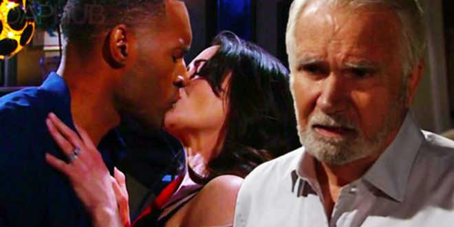 Beautiful anticipazioni americane, Eric videochiama Carter mentre fa l'amore con Quinn