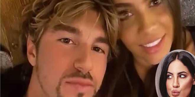 """L'espressione della fidanzata di Andrea Damante che viene chiamata """"Giulia"""""""