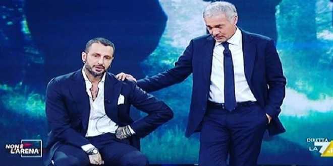 Fabrizio Corona: il messaggio a Massimo Giletti dopo il lutto