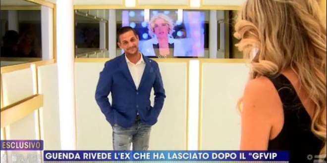 GF Vip 5, faccia a faccia tra Guenda Goria e Telemaco Dell'Aquila