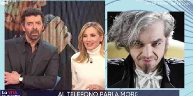 Festival di Sanremo, Morgan chiama in studio e scatena il caos a La Vita in Diretta