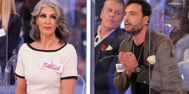 Uomini e Donne gossip, furiosa lite tra Armando ed Isabella: ecco cosa è successo