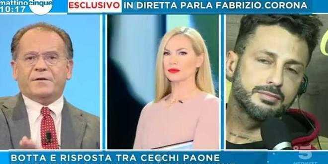 Grande Fratello Vip, furiosa litigata tra Alessandro Cecchi Paone e Fabrizio Corona