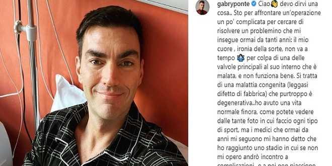 Gabry Ponte operato al cuore, i fan preoccupati sulle sue condizioni