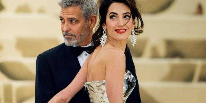 George Clooney diventa di nuovo papà: Amal è incinta del terzo figlio