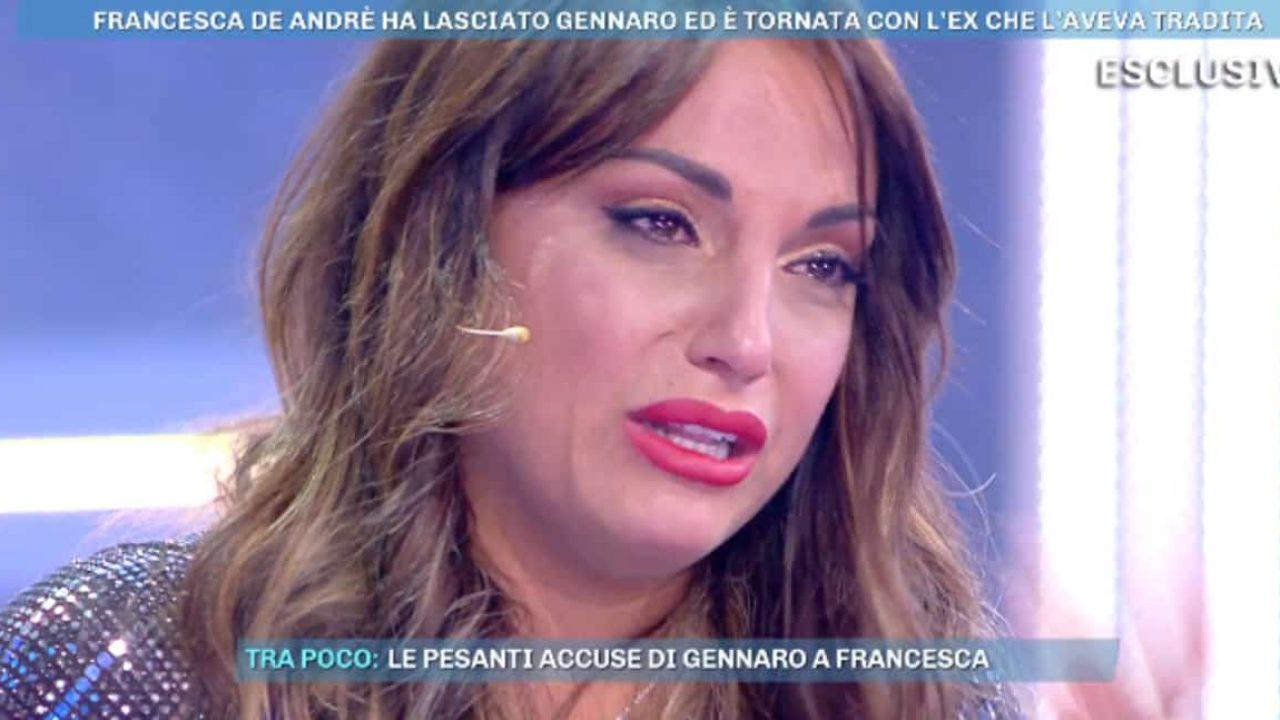 """GF 16, Francesca De André e le pesantissime accuse a Gennaro Lillio: """"Usava steroidi e mi strattonava"""""""