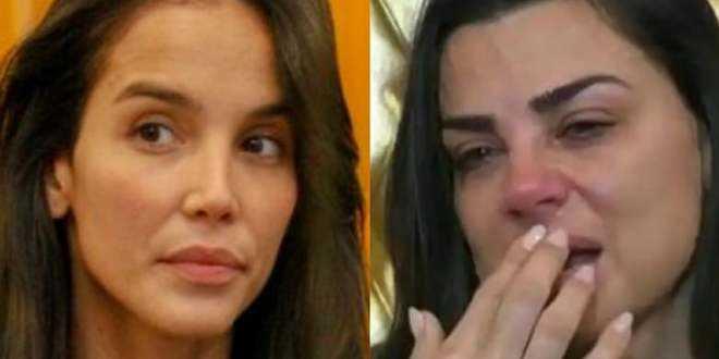 """GF Vip 4, lite tra Paola Di Benedetto e Serena Enardu: """"Esci le pal*e se le hai!"""""""