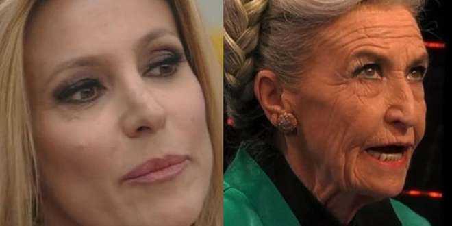 GF  Vip 4, volano accuse e parole grosse tra Adriana Volpe e Barbara Alberti