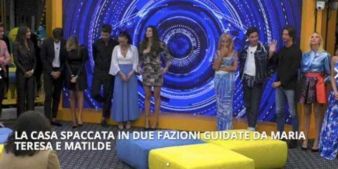 GF Vip 5, riassunto puntata 19-10-2020: esce Matilde Brandi, smascherata Elisabetta Gregoraci