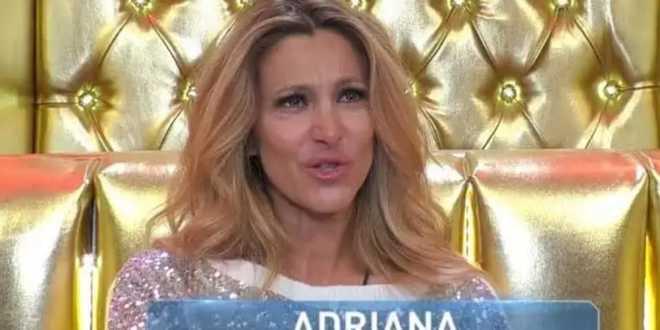 GF Vip, Adriana Volpe sotto shock: Coronavirus nella famiglia del marito